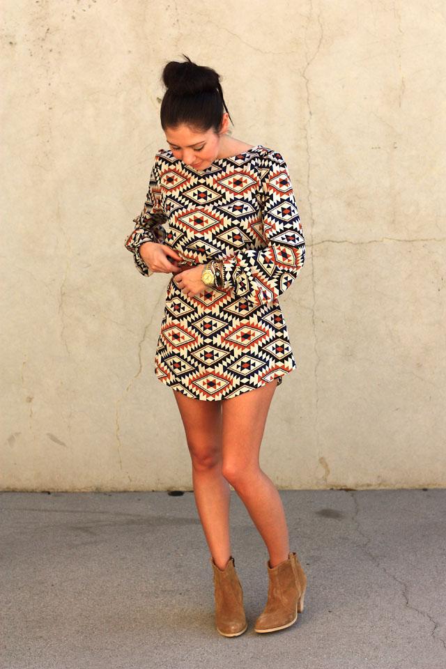 Aline C , Shop Sosie Dress, Asos Boots , Long sleeve, short
