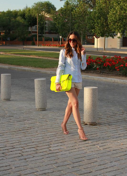 Besugarandspice FV - Maje Dress, Zara Bag, Carolina