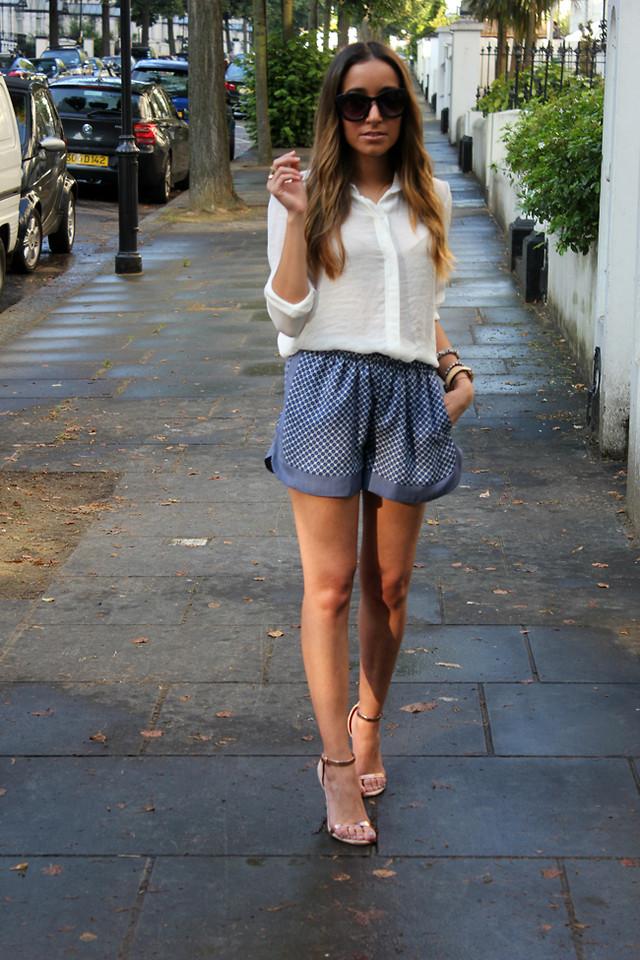 Besugarandspice FV - Mango Sunglasses, Zara Shirt - Sequin