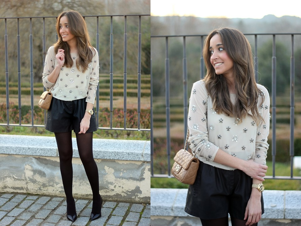 Besugarandspice FV - Dayaday Bag, Zara Skirt, Zara Sweater