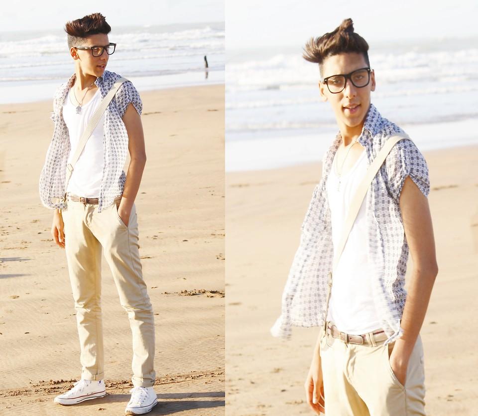 chemise converse