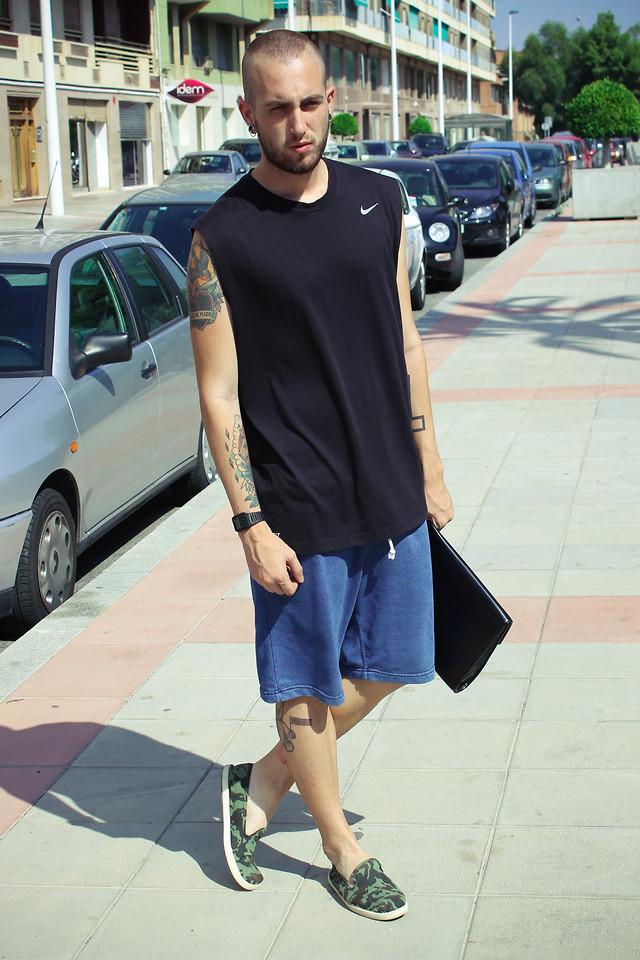 h&m nike shorts