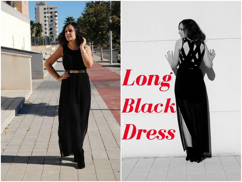 Natalia Calviño , H\u0026M Long Dress, Primark Gold Belt, Sfera