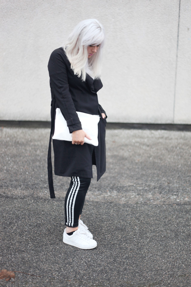 adidas superstar blancas outfit