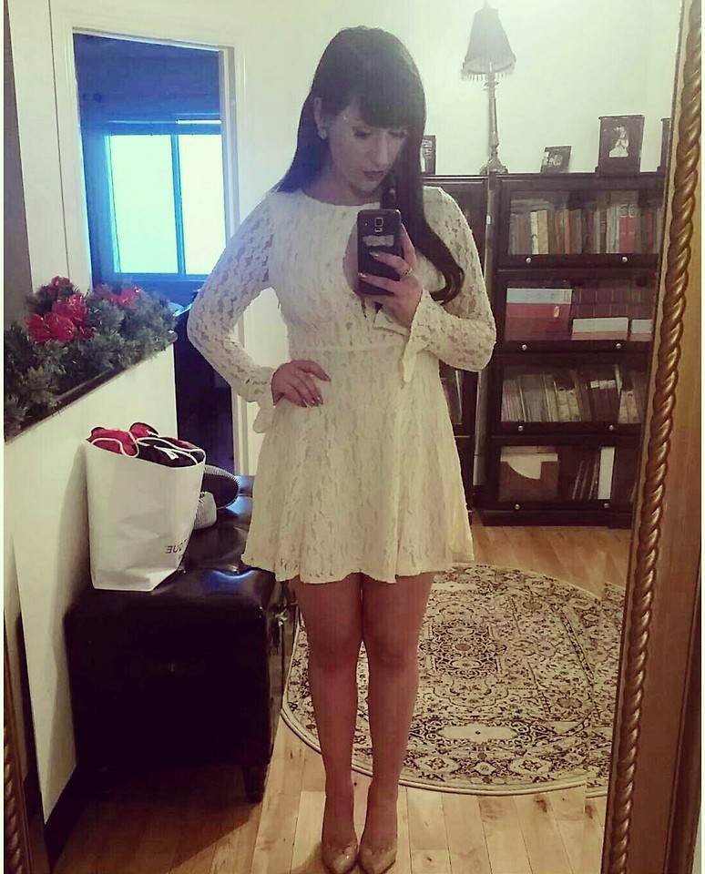 Free People Lace Teen Witch Dress