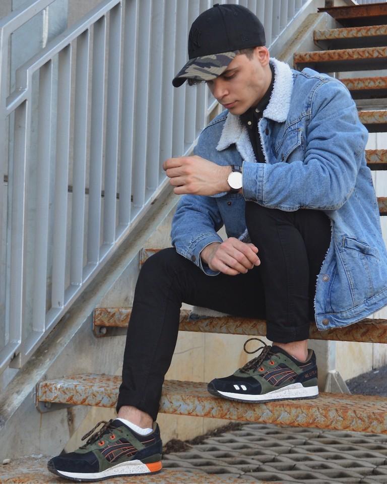 asics gel lyte iii jeans