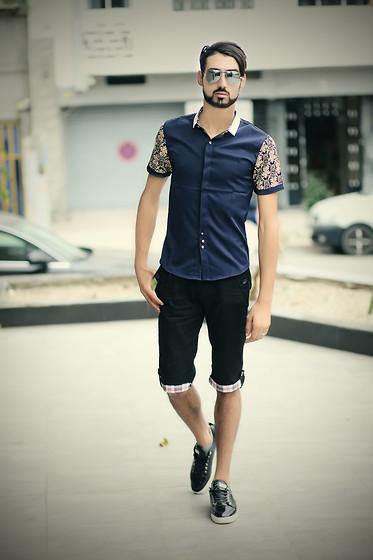 black shorts mens fashion