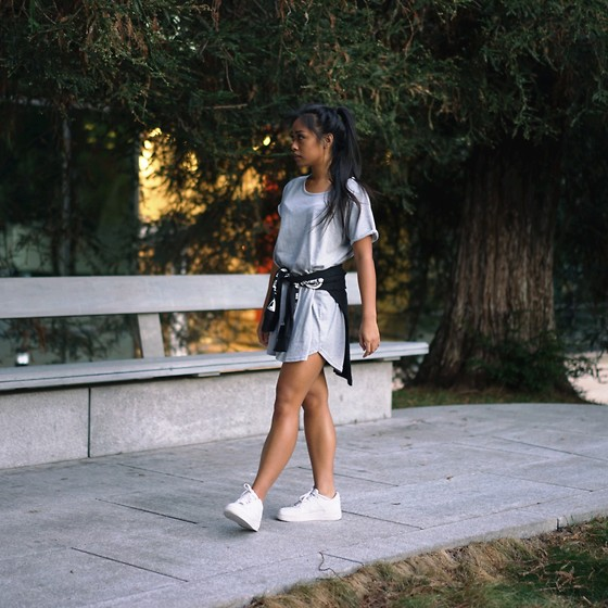 nike air force with dress