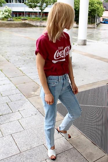 coca cola t shirt h&m