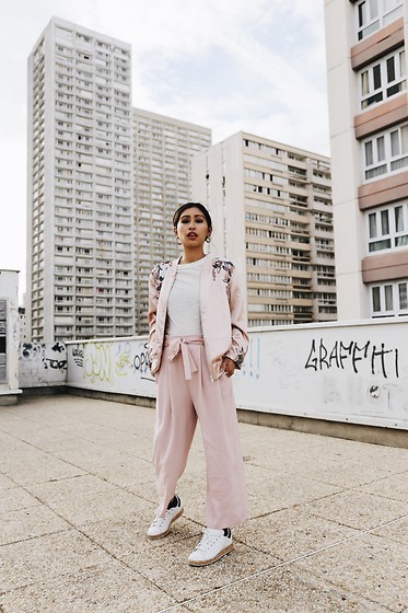 adidas stan smith rosa outfit