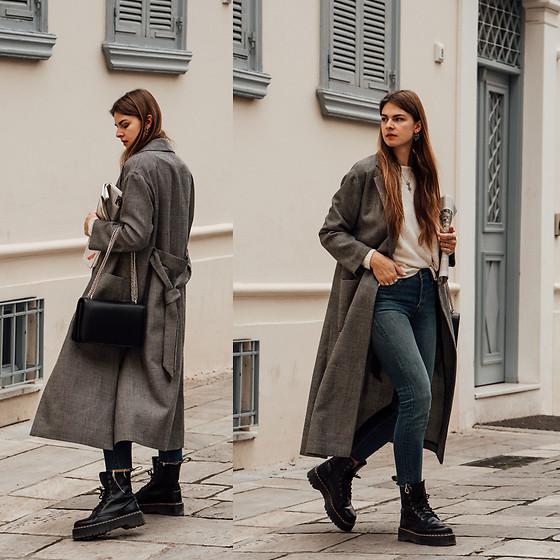 Jacky , Weill Paris Coat, Comma Sweater, Levi\u0027s® Jeans, Dr