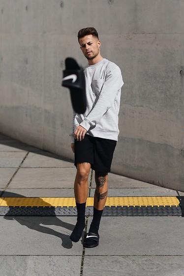 shorts with nike socks
