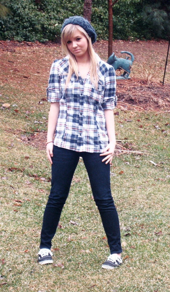 Shelby Harmon - Papaya Flannel, Bullhead Jeans, Vans ...