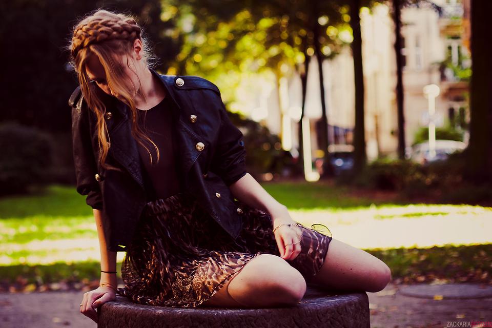 Marie Louise H American Apparel Cotton Spandex Micro Mesh Gloria V Bodysuit Free P Star Paris Leo Print Skirt Free P Star Paris Leather Jacket Your Kiss So Sweet Your Sweat