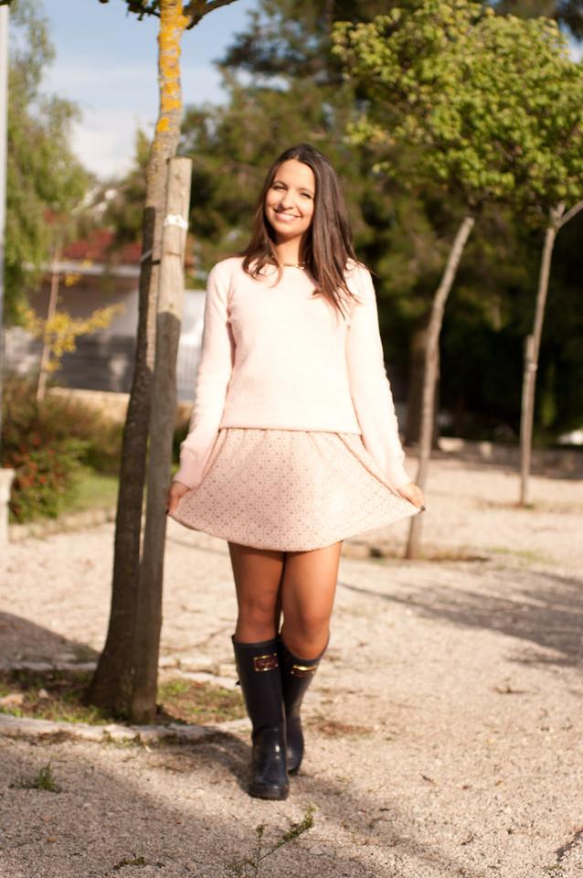 Portobello Sweater, Topshop Wellies
