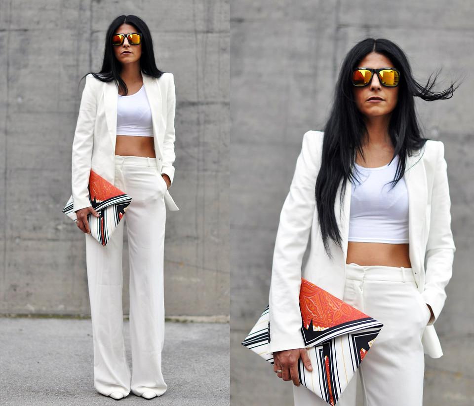 new collection pretty cheap new design Maya Lorelei - Choies Mirrorred Sunnies, Topshop Crop Top, Zara ...