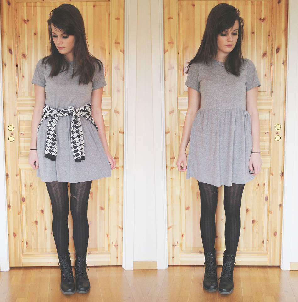 Forever 21 Gray Casual Dress, Zara