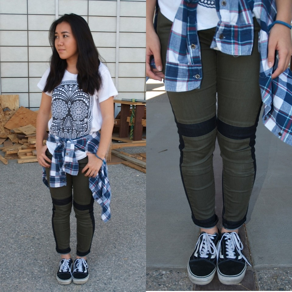 Obey T Shirt, Bdg Jeans, Vans Old Skool