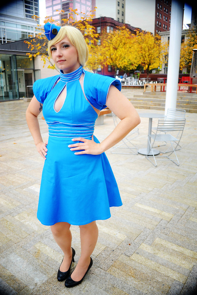 Lauralyn A Handmade Britney Spears Flight Attendant Costume Toxic Flight Attendant Lookbook