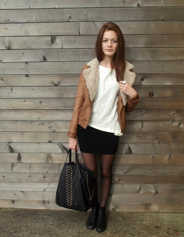 Camille Mode Zara White Sweaters Zara Brown Vests Zara Black