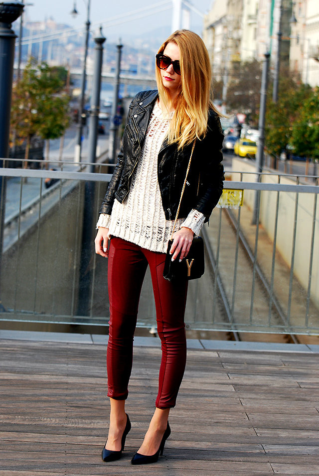 Vivienn Nagy H&M Knit, H&M Pants, Jessica Buurman Bag