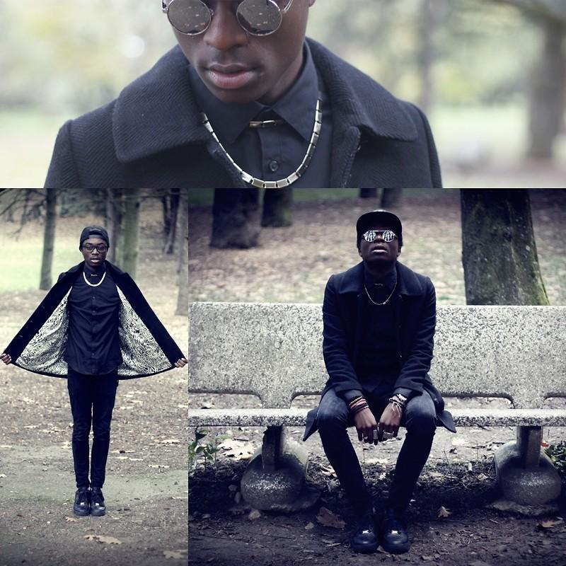 Marc Henri Ngandu Nike Air Force One Blackdiamond Lookbook