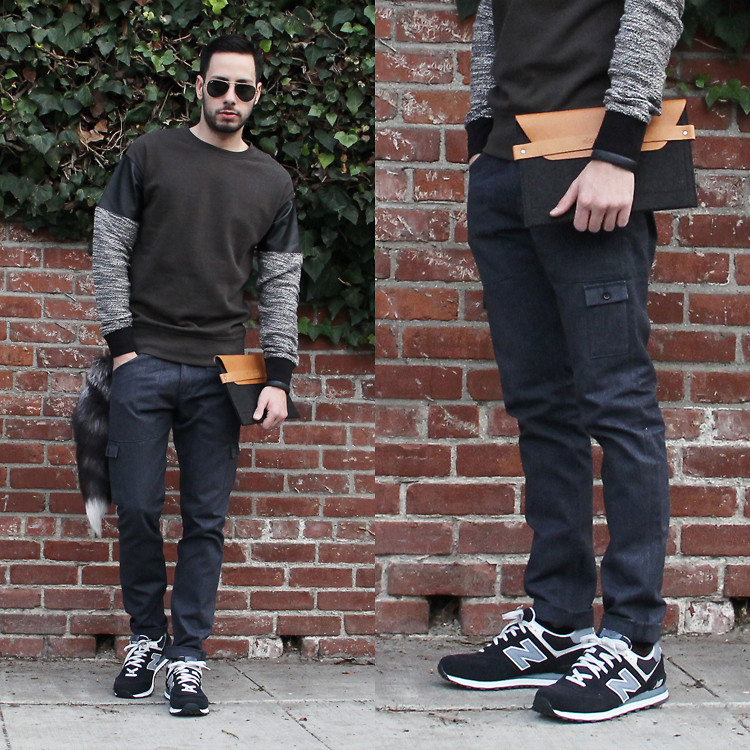 new balance jeans style