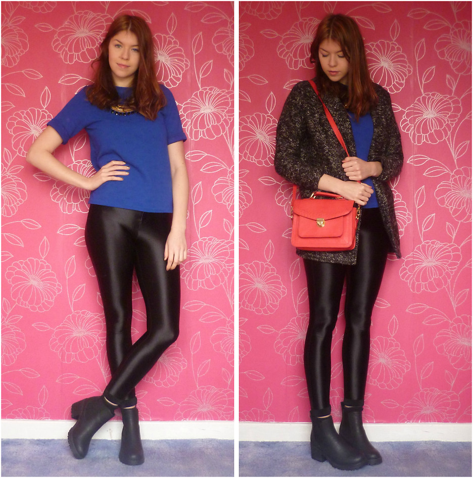 river island chunky chelsea boots