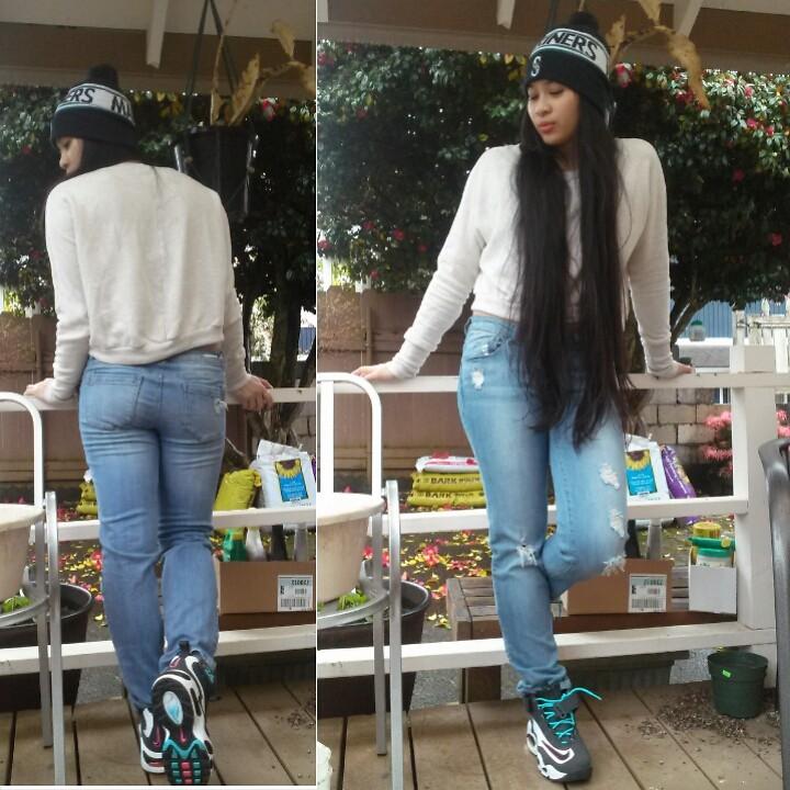 Kirstie Mlb Seattle Beanie American Rag Sweater Jolt Boyfriend