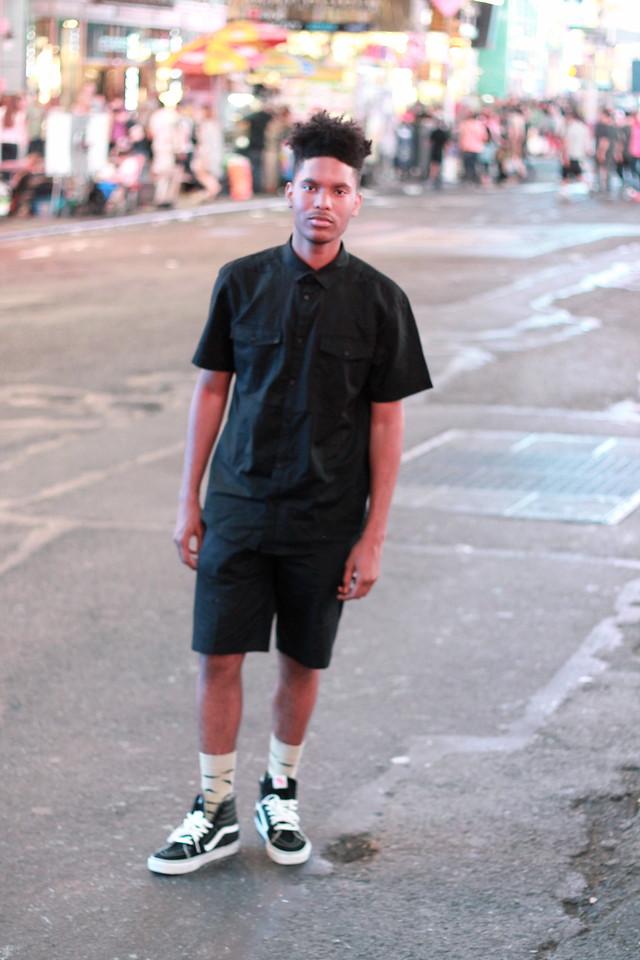 vans sk8 hi and shorts buy clothes