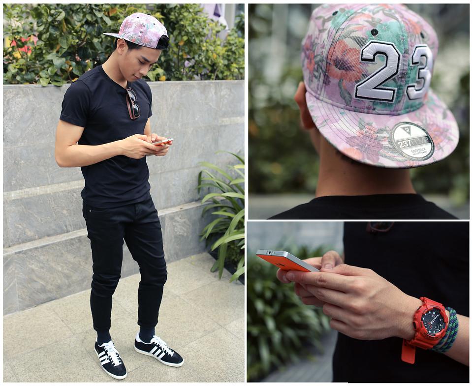 transferencia de dinero balcón moneda  Khoa Hồ - Adidas Gazelle Shoes, Mas Original Black Pants, Mas ...