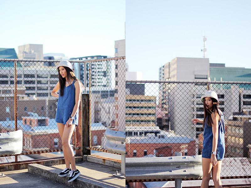 Jody Nguyen Vans Old Skool Rooftop Vibes | LOOKBOOK