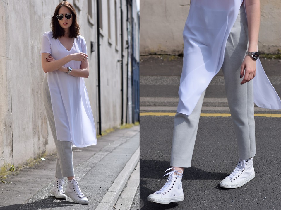 where can i buy cheaper well known Lizzy Hadfield - Converse, Asos Long Top, French Connection Uk ...