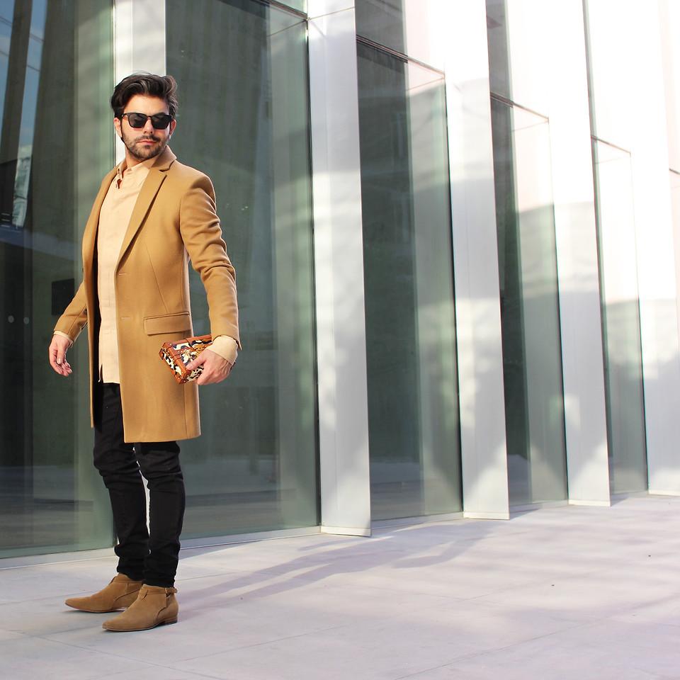 Zara Coat, Calvin Klein Shirt, American