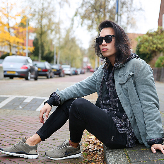 Christian Chou Eposide Suede, Nudie Jeans High Kai