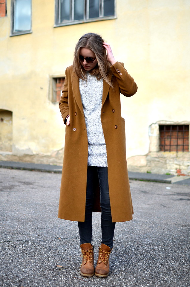 Shetland Medicinal cilindro  Jessica N. - Coat Vintage, Timberland Boots - IN THE GHETTO | LOOKBOOK