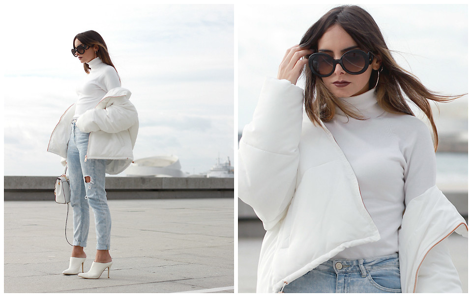 Fashionista NOW : 10 Ways To Slay In A White Coat On A Chilly Day