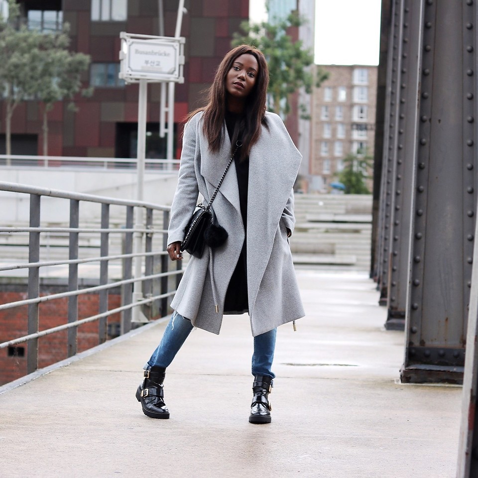 Fashionista NOW: Grey Coat Style Inspiration