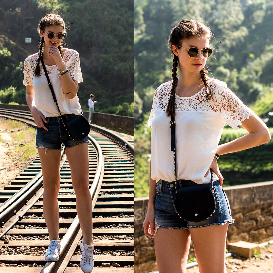 Fashionista NOW: Easy Breezy Outfit Ideas With Denim Shorts