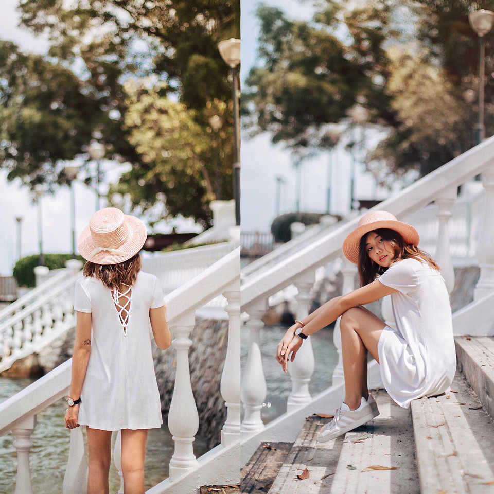 Fashionista NOW: How To Do Casual In Little White Dresses?