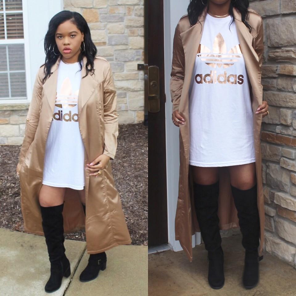 Sherese Crawford Adidas Oversized Tee, Necessary Clothing
