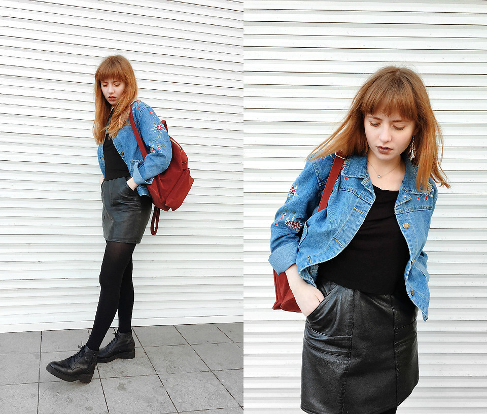 Fashionista NOW: How To Style Denim Jacket With Embroidered Patches?