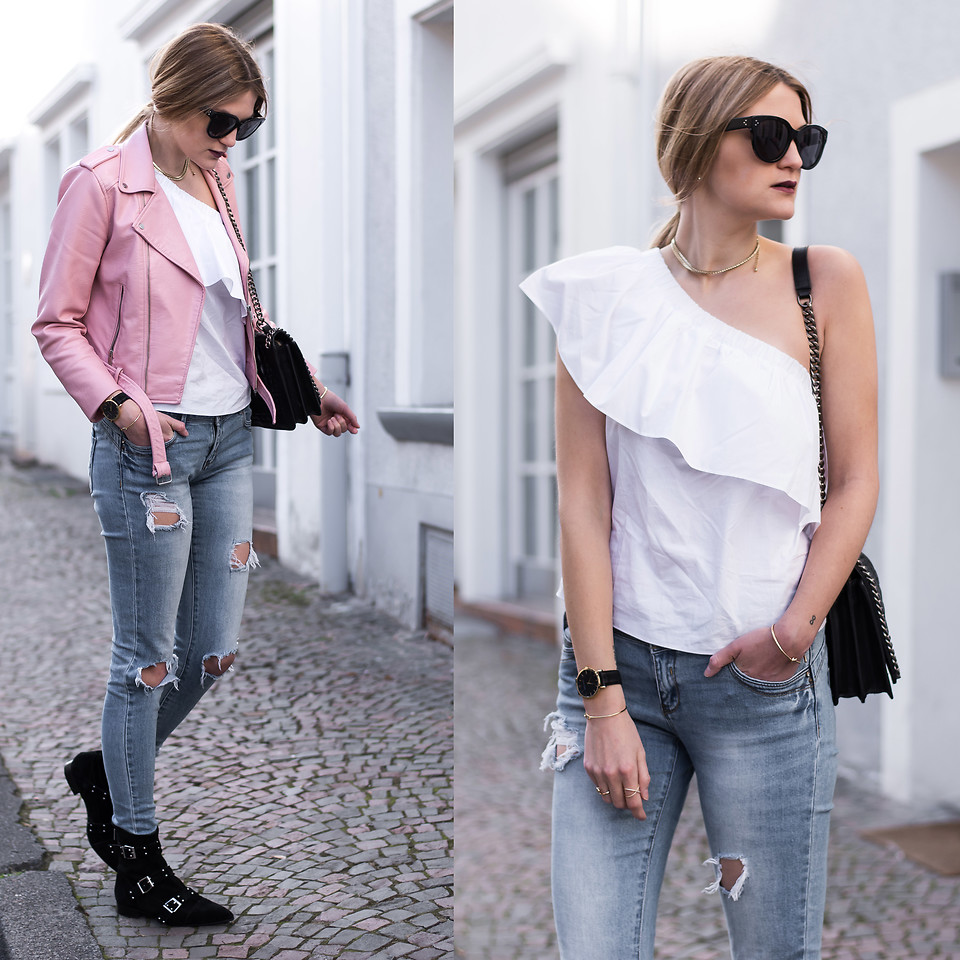 Fashionista NOW: Free One Shoulder In This Statement Blouse Trend