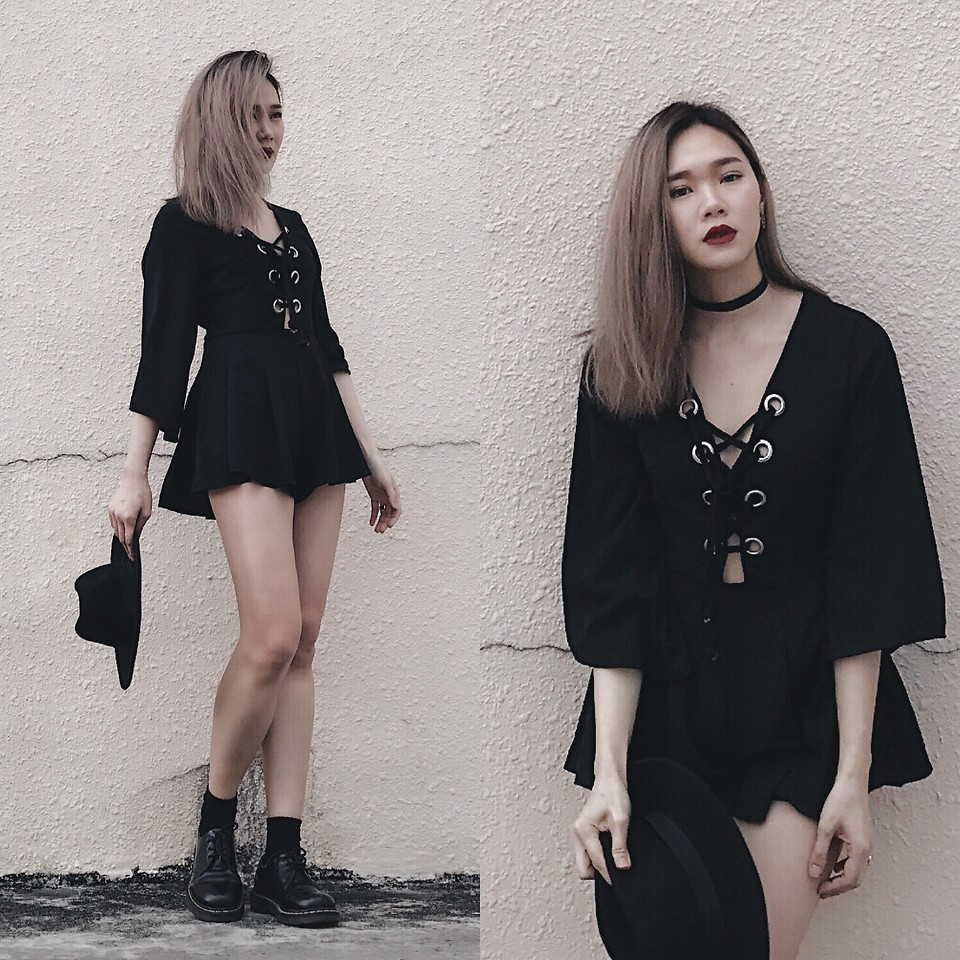 Fashionista NOW: Make Edgy Black Rompers Your LBD Alternative This Summer