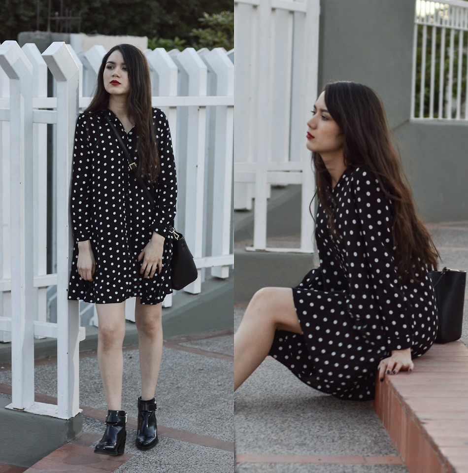 Fashionista NOW: Pretty Polka Dot Dress Style Ideas To Consider Wearing