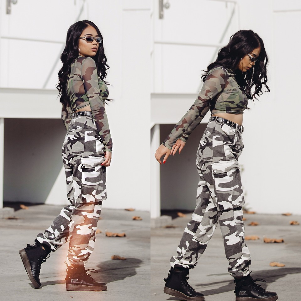 Fashionista NOW: How To Style Your Camo Pants?