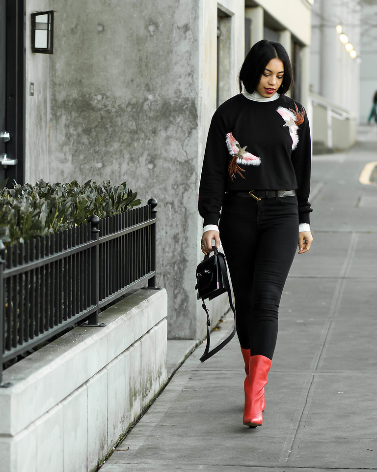 Fashionista NOW: How To Wear Sweaters With Patterns?