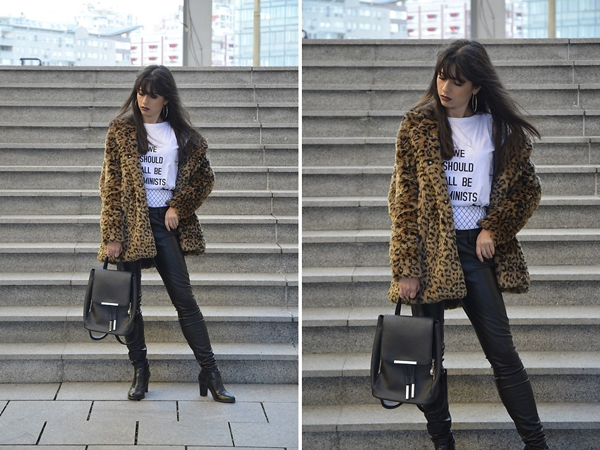 Fashionista NOW: How To Wear The Statement Leopard Print Coat?