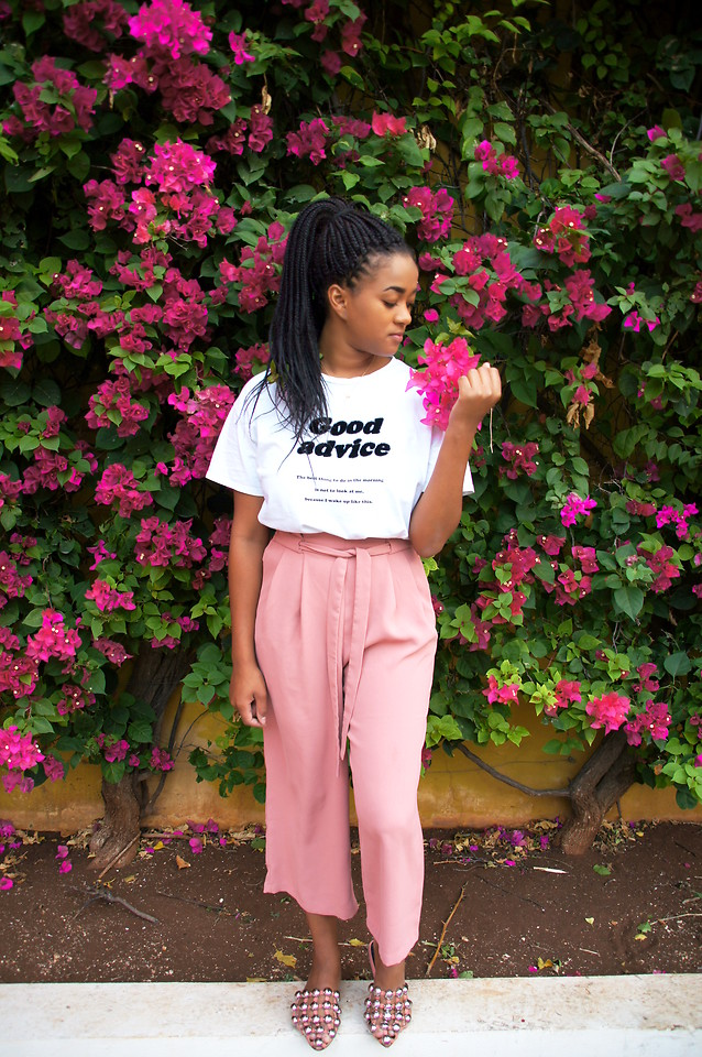 Fashionista NOW: How To Style Your Pink Pants?