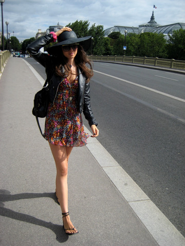 Andy T. - H&M Hat, Lob (Mexico) Dress - OH PARIS, IF ONLY I COULD STAY...
